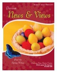 Newsletter - Davison Area Senior Center