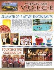 valencia lakes program guide - GL Homes