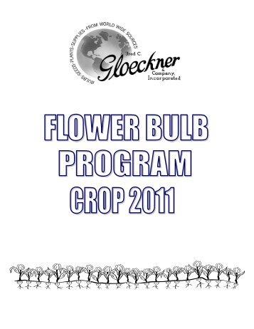 Clackamas bulb ordering guide - Fred C. Gloeckner & Company Inc.
