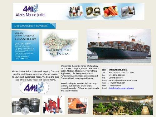 ALEXIS MARINE (India) pdf - ShipServ