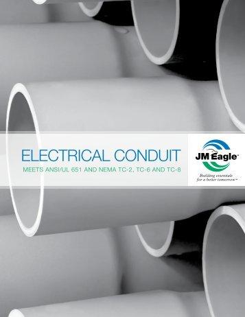 Electrical Conduit Brochure - JM Eagle