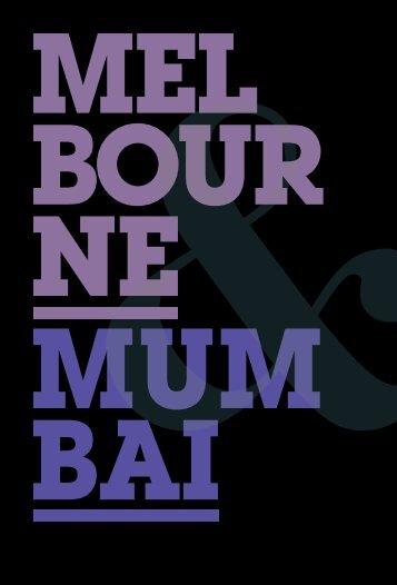 Melbourne & Mumbai Booklet - melbourneand.com