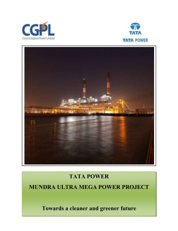 TATA POWER MUNDRA ULTRA MEGA POWER PROJECT ...