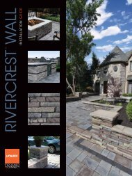 Rivercrest Installation Guide - Risi Stone Retaining Wall Systems