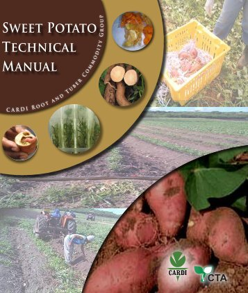 Sweet Potato Technical Manual - Caribbean Agricultural Research ...