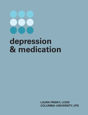 Depression and Medication - Health Services - Columbia University