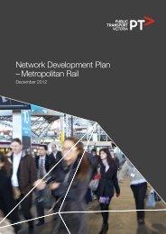 Network Development Plan – Metropolitan Rail