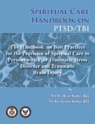 Spiritual Care Handbook on PTSD/TBI - HealthCare Chaplaincy