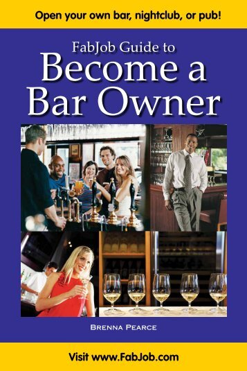 FabJob Guide to Become a Bar Owner - Fabjob.com