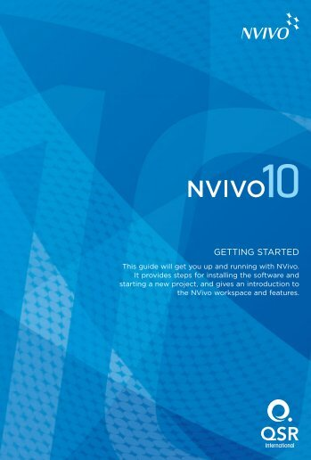 NVivo 10 Getting Started Guide - QSR International