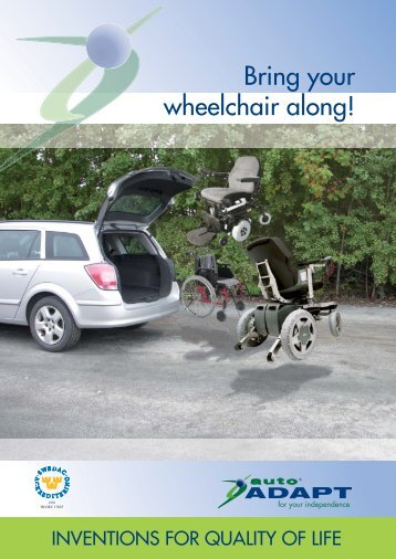 Bring Your wheelchair Along! - Autoadapt