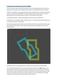 Creating an Axonometric View in Rhino