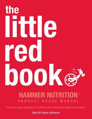 Product Usage Manual - Hammer Nutrition