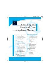 Encoding and Retrieval from Long-Term Memory - Psychology