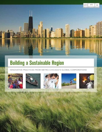 Building a Sustainable Region