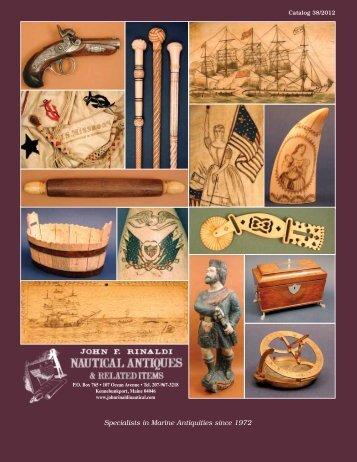Specialists in Marine Antiquities since 1972 - John F. Rinaldi ...