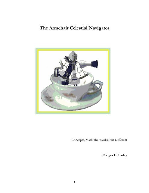 INTRODUCTION TO CELESTIAL NAVIGATION - dacust