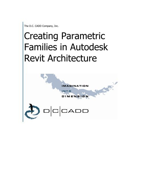 Creating Parametric Families in Autodesk Revit Architecture