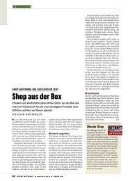 Shop aus der Box - Wagenknecht, Achim