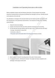 Installation instructions.pdf - Roller shutter doors