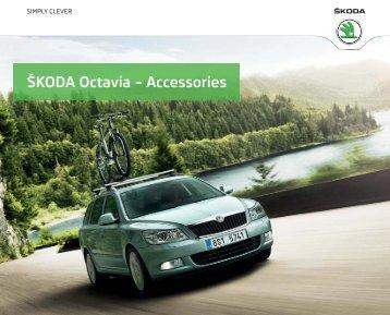 ŠKODA Octavia – Accessories - Škoda Auto - Palestine