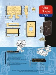 Ultra Shutter Locks - Godrej Locking