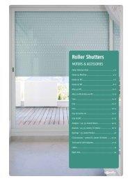 Roller Shutters - Burns for Blinds