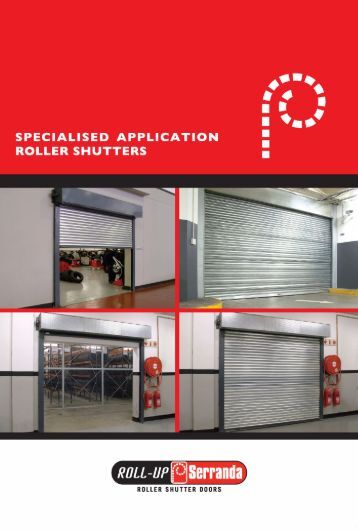 Roll-Up Serranda - Specialised Application Roller Shutters