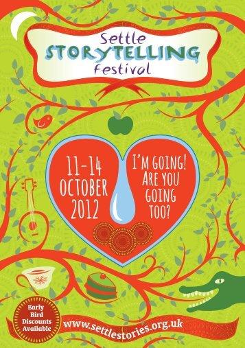 Settle Storytelling Festival 2012 PDF brochure - Settle Stories