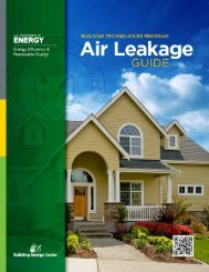 Air Leakage Guide - Building Energy Codes