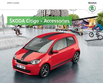 ŠKODA Citigo – Accessories