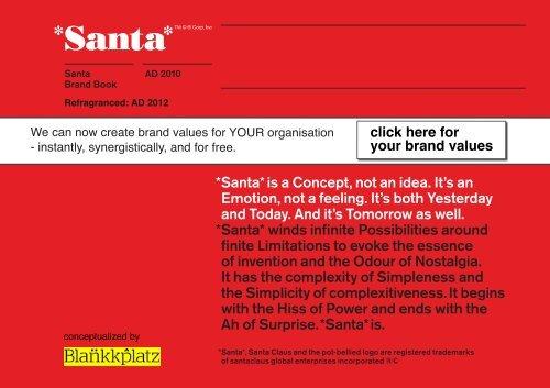 Santa Brand Book