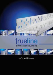 EXPANDED PRODUCTS LTD we've got the edge - Trueline Products