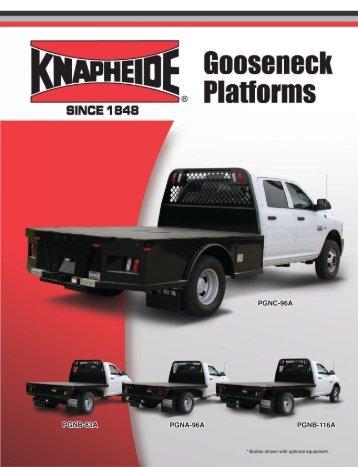PGNC Gooseneck Bodies Literature - Ram - Knapheide