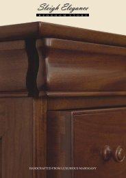 Sleigh Elegance - Surindo Furniture