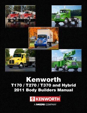 Download manual - Kenworth