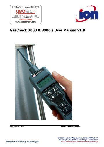 qrae ii instruction manual