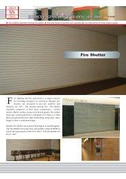 Fire Shutter - Duodex Shutters