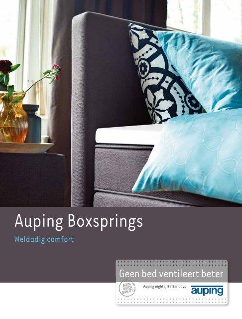 Auping Boxspring Boxton.Auping Boxsprings