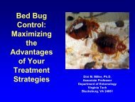Bed Bug Control: Maximizing the Advantages of Your Treatment ...
