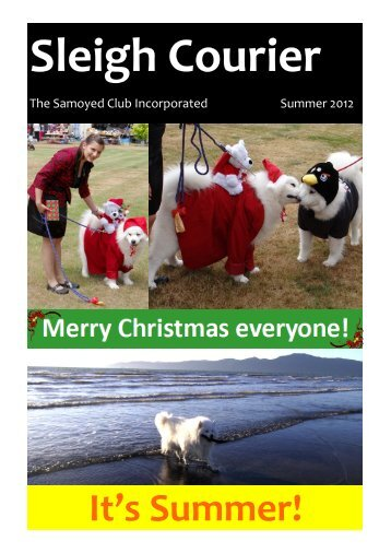 Sleigh Courier Summer 2012 (pdf 6.8MB) - The Samoyed Club ...