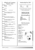 Sleigh Courier Summer 2012 (pdf 6.8MB) - The Samoyed Club ... - Page 2