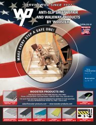 Wooster Products Inc., Anti-Slip Safety Stair And ... - ShipServ
