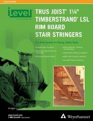 trus joist – stair stringers - Atlas Truss