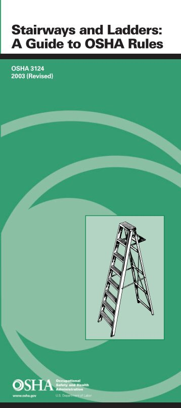 Stairways and Ladders: A Guide to OSHA Rules - Free OSHA ...