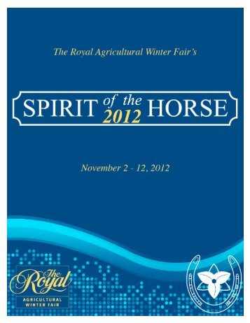 The Partnership Continues - Ontario Equestrian Federation