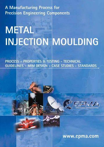 METAL INJECTION MOULDING - Prontoplast Spritzguss AG