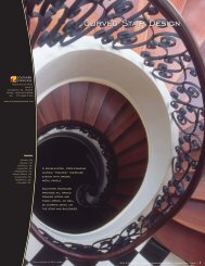Curved Stair Design - Southern Staircase