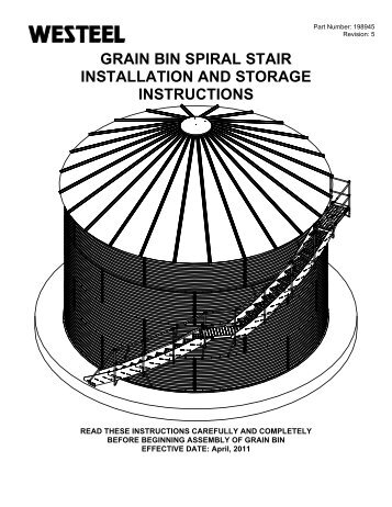 198945 Curved Stair INSTALLATION INSTRUCTIONS.pdf - Westeel