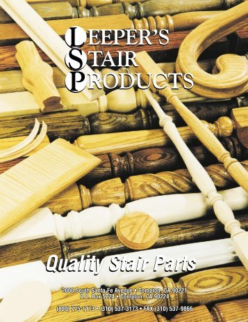 Quality Stair Parts - Moldings Unlimited